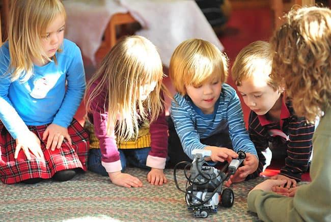 علم الروبوت للأطفال