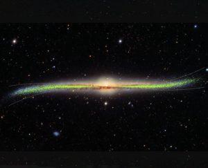 خريطة ثلاثية الأبعاد تكشف شكل مجرة درب التبانة