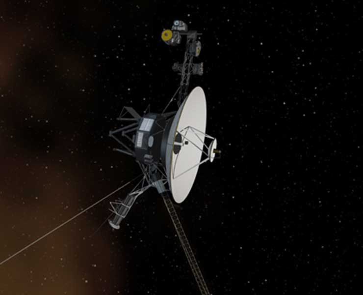 المسبار «فوياجر 2» يرسل تحياته من بين النجوم