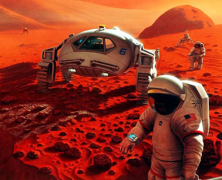 المريخ, مستعمرات بشرية, الحياة على المريخ, الحياة خارج الأرض, ناسا, بشر