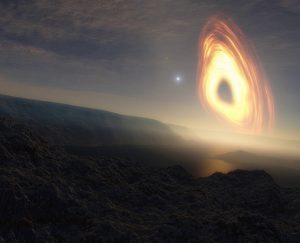 كيف يمكن أن تزدهر الحياة على كوكب يدور حول ثقب أسود؟