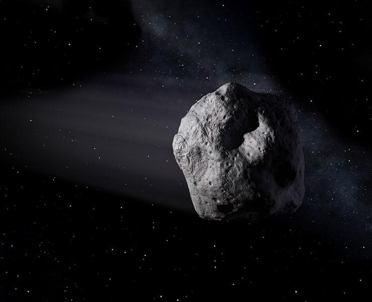 كويكب, الأرض, فضاء, الانقراض