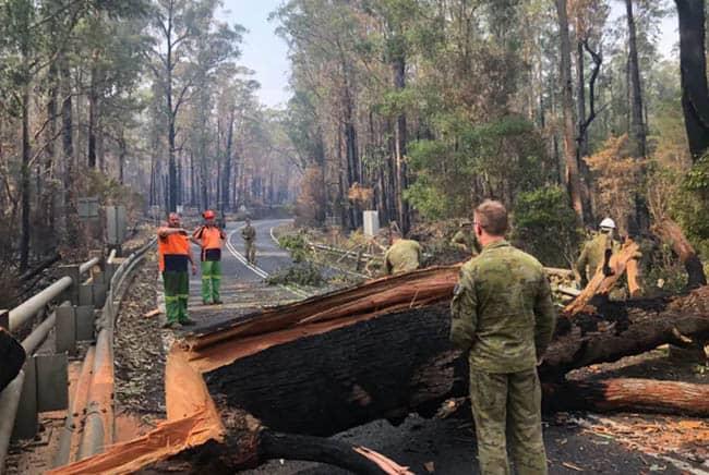 حرائق أستراليا, الاحتباس الحراري, حرائق الغابات