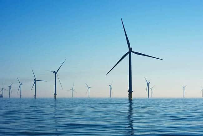 توربينات الرياح, التغير المناخي, بيئة