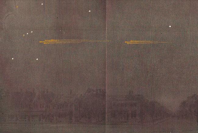 موكب النيازك العظيم عام 1913