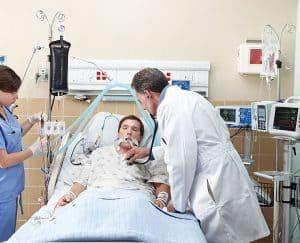 وحدة عناية مركزة, أجهزة تنفس صناعي