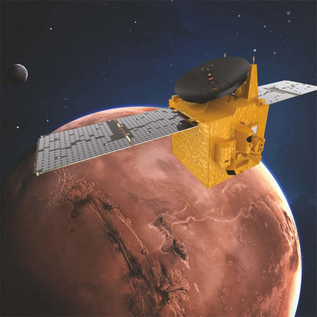 مسبار الأمل يصل إلى مدار المريخ