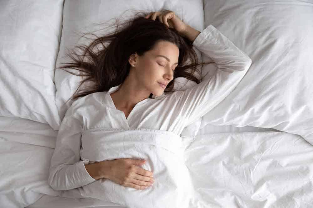 النوم على ظهرك, النوم, صحة, صحة جسدية
