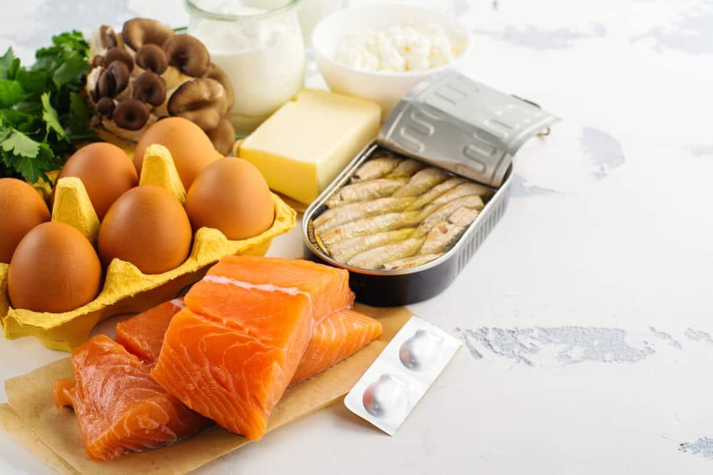 مصادر فيتامين د من الطعام