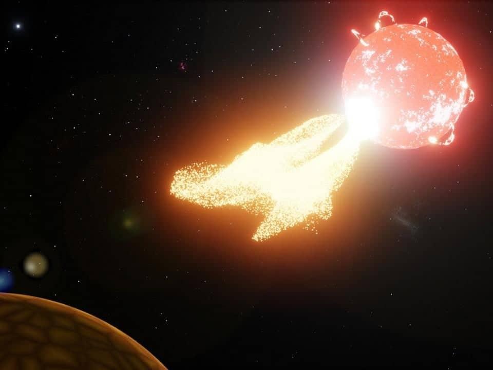 هل يؤثر طقس الفضاء العنيف على وجود كواكب خارجية صالحة للحياة؟