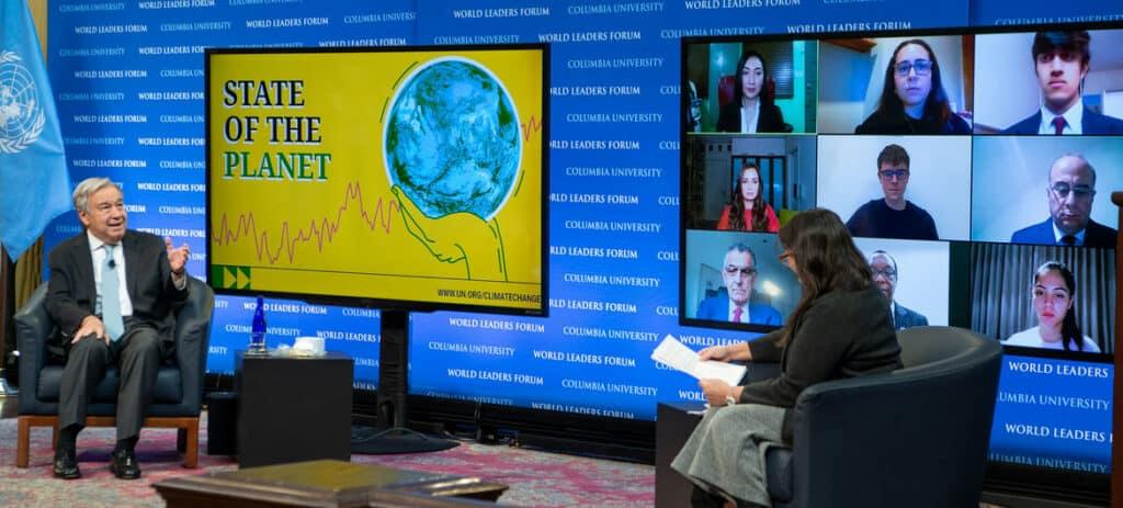 الأمين العام للأمم المتحدة: البشر يشنون حرباً انتحارية على الطبيعة