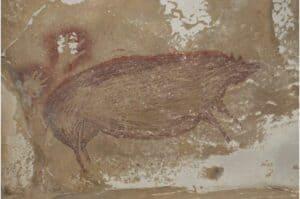 أكثر من 45 ألف سنة: العثور على أقدم لوحة رسمها البشر