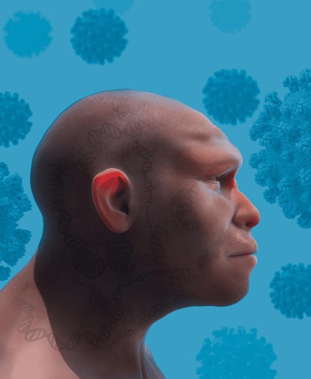وراثة لآلاف السنين: ما دور جينات الإنسان البدائي في الإصابة بكورونا؟