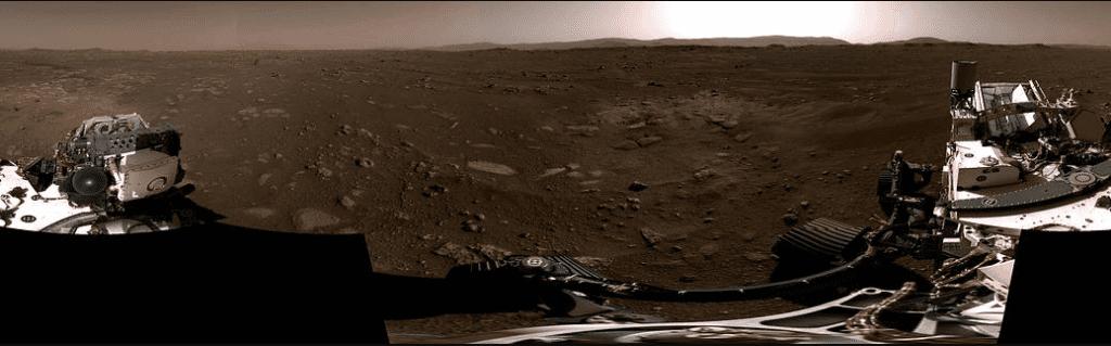 استمع إلى الرياح المريخية: أول فيديو من مهمة بيرسيفيرانس