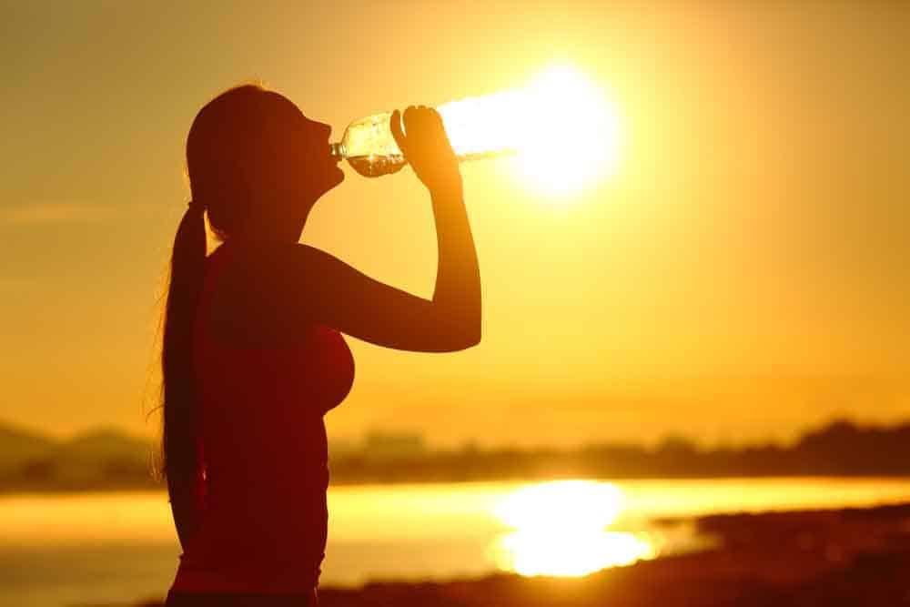 حرارة, ضربة الشمس, الاجهاد الحراري, اعراض ضربة الشمس