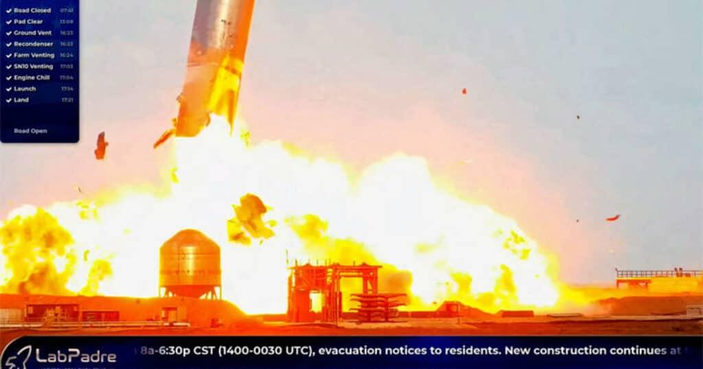 انفجارٌ مدوٍّ: فشل المحاولة الثالثة لإطلاق صواريخ سبيس اكس