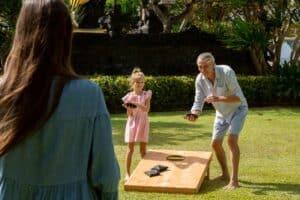 اصنعها بنفسك: 5 ألعاب مسلّية في باحة منزلك الخلفية