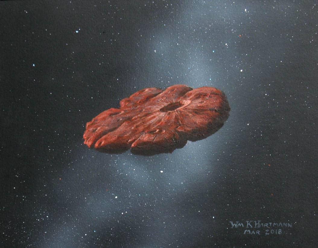 قادم بين النجوم: العلماء يحددون هوية الجسم الفضائي الغريب
