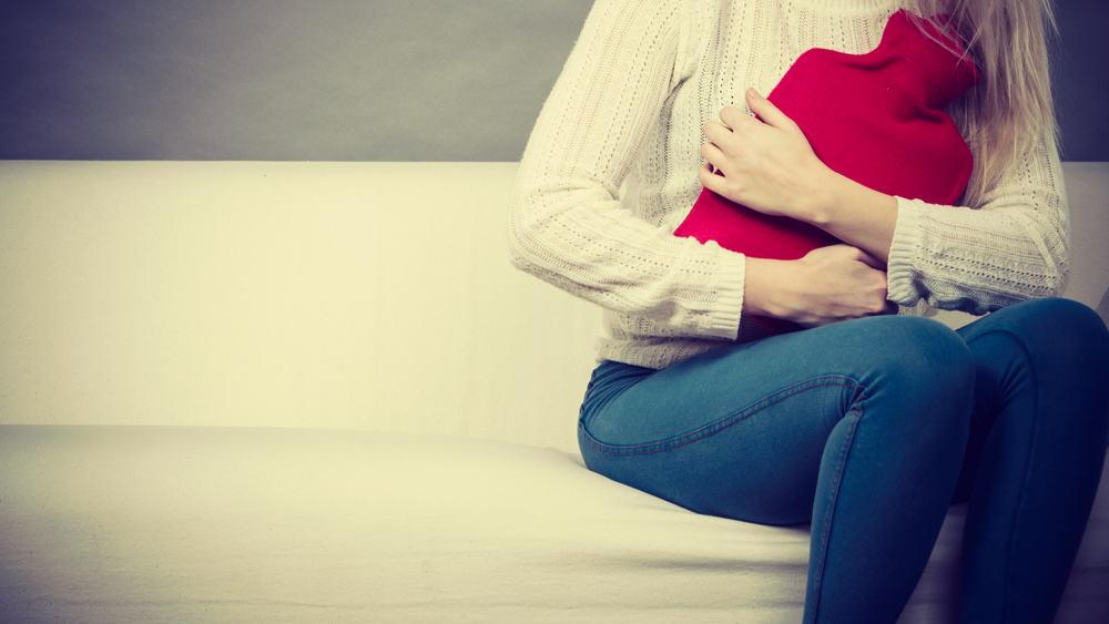 التخلص من الام الدورة الشهرية