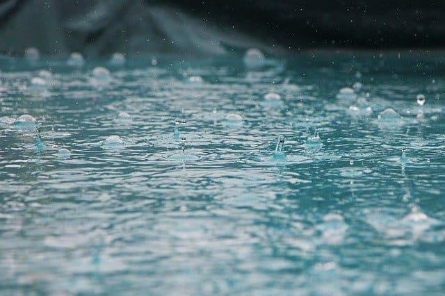 مياه الأمطار, بيئة