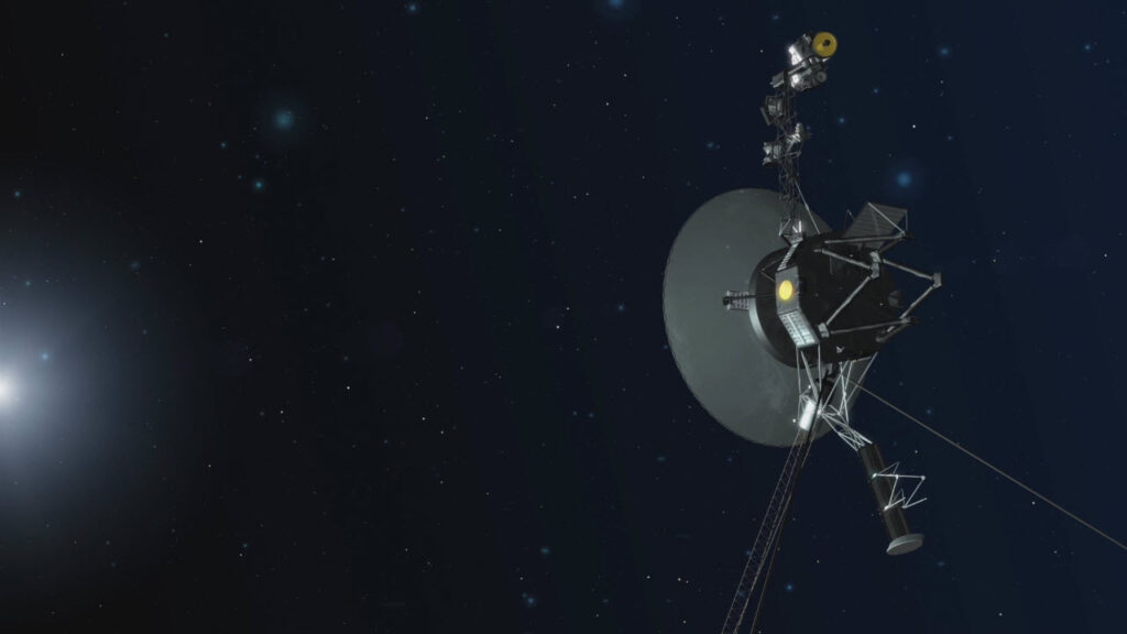 تسبح بين النجوم: «فوياجر 1» ترسل بصمة الفراغ الهش في الفضاء