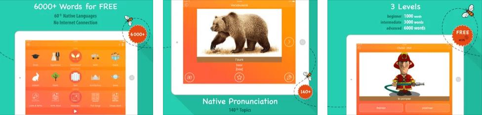 افضل تطبيقات تعلم اللغة الانجليزية - تطبيق 6000 Words