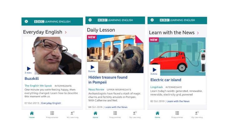 تطبيق BBC Learning English