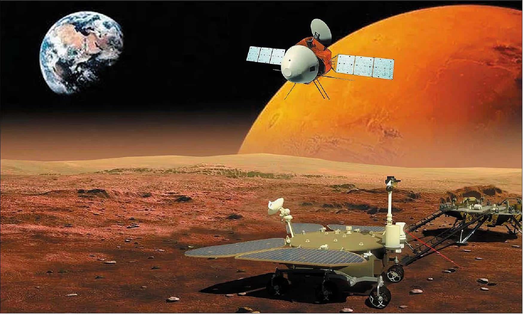 مهمة تايناوين-1 الصينية، المريخ
