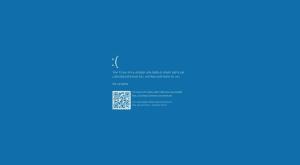 حل مشكلة الشاشة الزرقاء في ويندوز 10